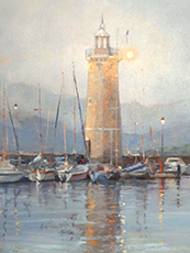 'SUMMER EVENING, ITALY' by Jan Williamson